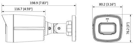 KAMERA AHD, HD-CVI, HD-TVI, PAL DH-HAC-HFW1500TLP-A- 0360B - 5Mpx 3.6mm DAHUA