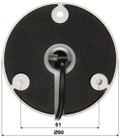 KAMERA HD-CVI, PAL DH-HAC-HFW2221DP -0360B - 1080p 3.6mm DAHUA