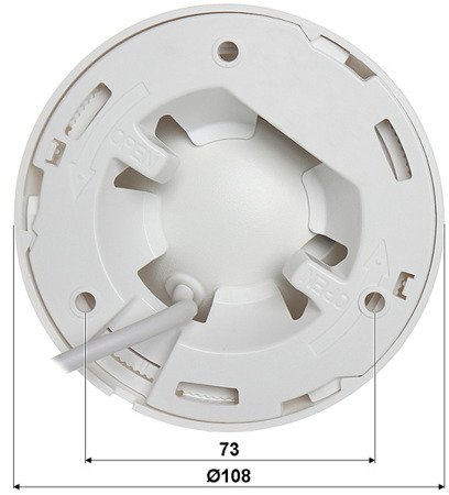 KAMERA IP DH-IPC-HDW1531SP-036 0B - 5.0Mpx 3.6mm DAHUA