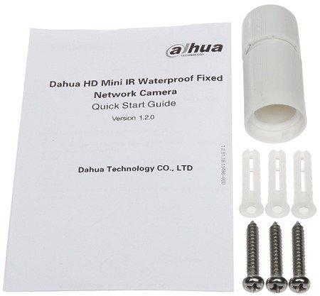 KAMERA IP DH-IPC-HFW4431SP-028 0B - 4.0Mpx 2.8mm DAHUA