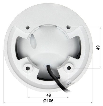 KAMERA WANDALOODPORNA AHD, HD-CVI, HD-TVI, PAL DH-HAC-HDW1200EMP-A- 0280B - 1080p 2.8mm DAHUA