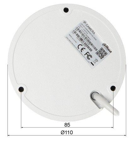 KAMERA WANDALOODPORNA IP DH-IPC-HDBW4830EP-AS -0400B - 8.3Mpx 4mm DAHUA
