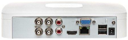 REJESTRATOR AHD, HD-CVI, HD-TVI, CVBS, TCP/IP DHI-XVR5104C-4KL-X 4 KANAŁY DAHUA