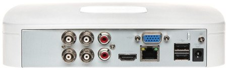 REJESTRATOR AHD, HD-CVI, HD-TVI, CVBS, TCP/IP DHI-XVR5104C-X1 4 KANAŁY DAHUA