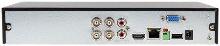 REJESTRATOR AHD, HD-CVI, HD-TVI, CVBS, TCP/IP DHI-XVR5104HS-4KL-X 4 KANAŁY DAHUA