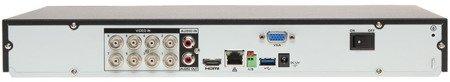 REJESTRATOR AHD, HD-CVI, HD-TVI, CVBS, TCP/IP DHI-XVR5208AN-4KL 8 KANAŁÓW DAHUA