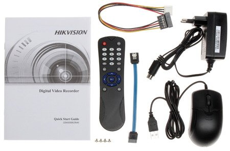 Zestaw Do Monitoringu IP Hikvision 4x Kamera 4.0 Mpx 1TB